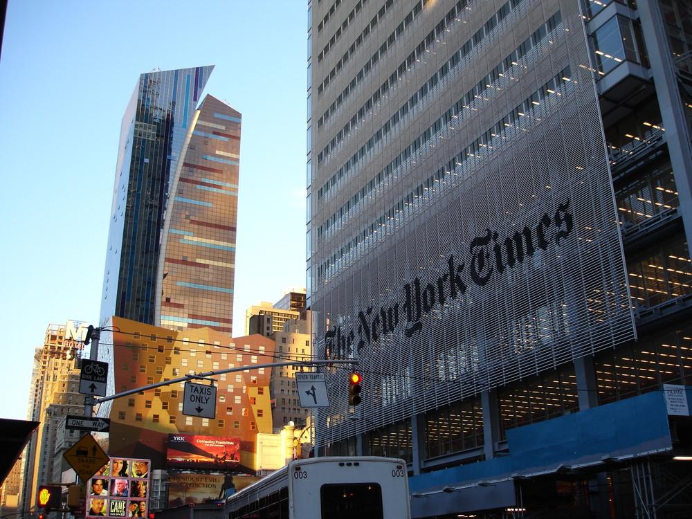 The New York Times hat ein neues Gesicht