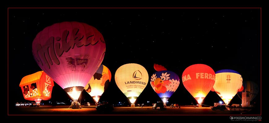 The Night Baloons...