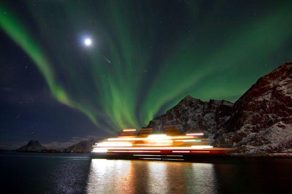 The northern lights ship