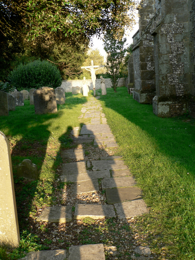 The old Cemetery, St. Marys Church, Arundel