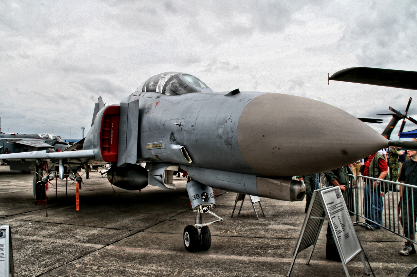 The old F-4.....