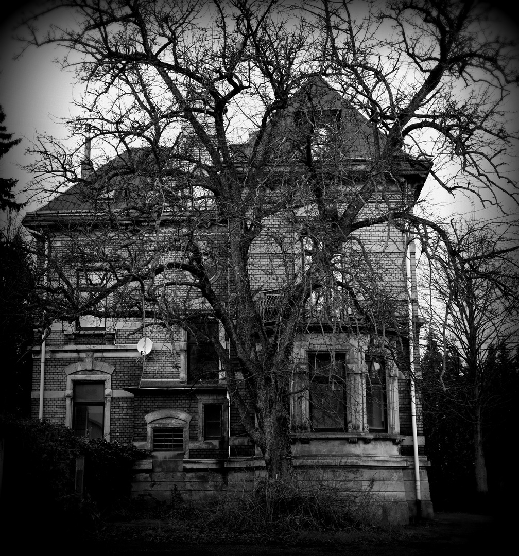 The old house….