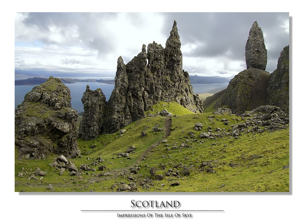 """The Old Man of Storr"" auf Skye"
