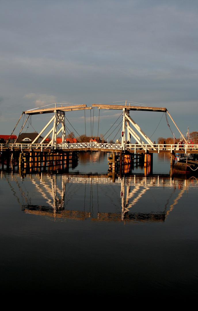 The old white bridge