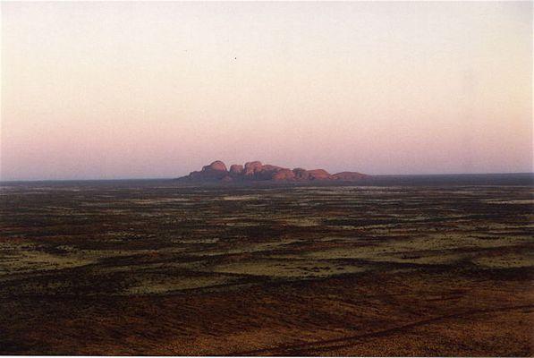 the Olga's seen from Uluru