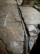The original Roman pipe system made of Lead, Roman Baths