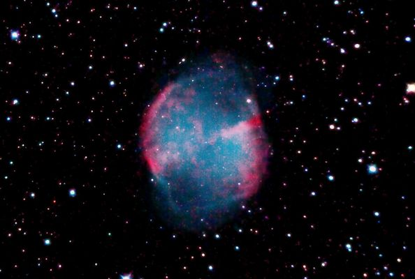 The other view of M-27 - The Dumb-Bell nebula