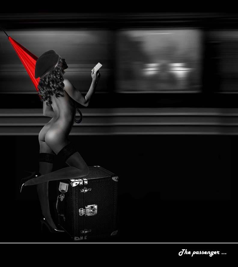 The passenger...