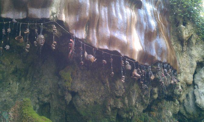 The Petrifying Well. Knaresborough. UK.