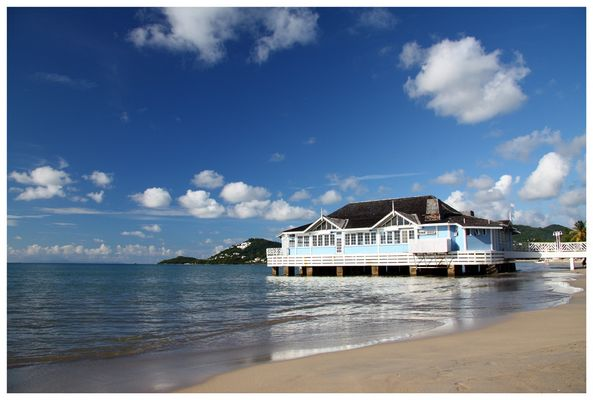 """""""The Piers"""" of St. Lucia"""