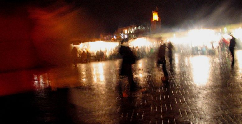 the place of Djemaa el Fna