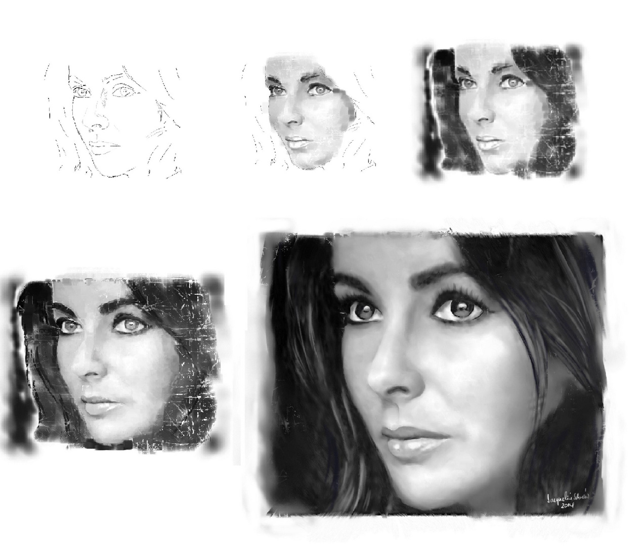 the progress .... Liz Taylor