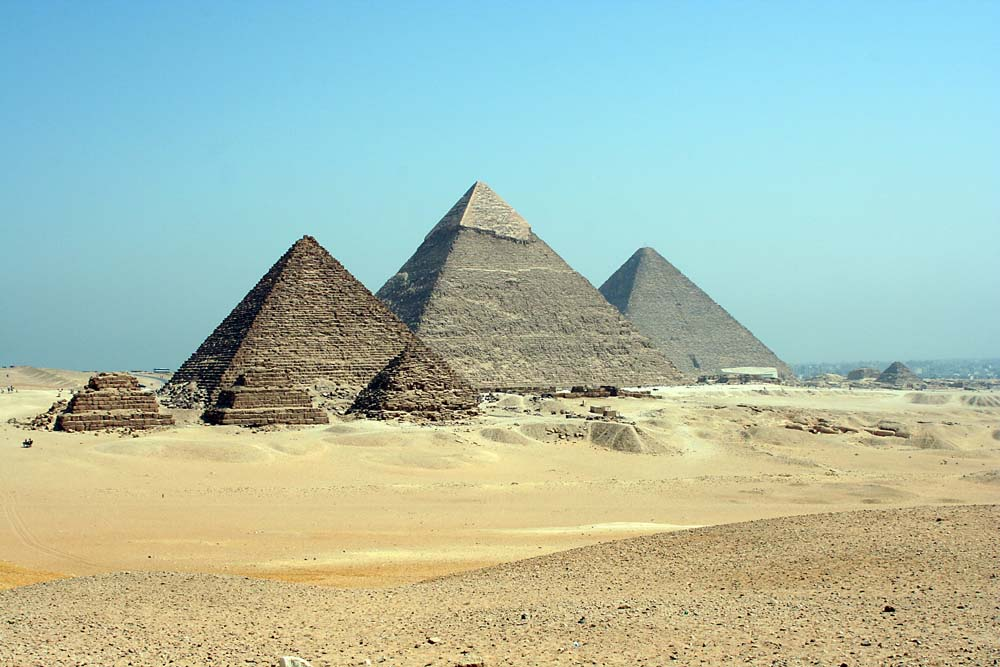The Pyramids at Giza