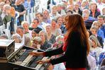 The queen of jazz organ