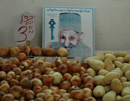 the rabbi doesn't like the smell of onions.....