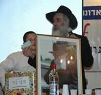 The Rabbi tells us to be carefull of the bottle.