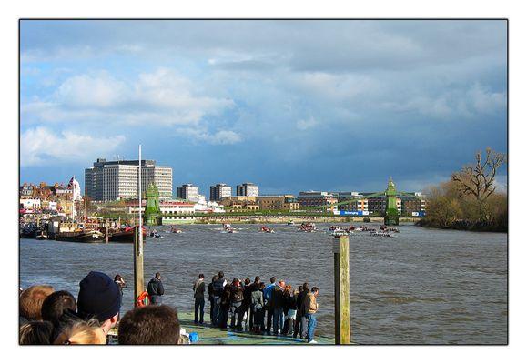 The Race! Oxford vs Cambridge
