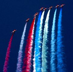 "The ""Red Arrows"" of the Royal Air Force"