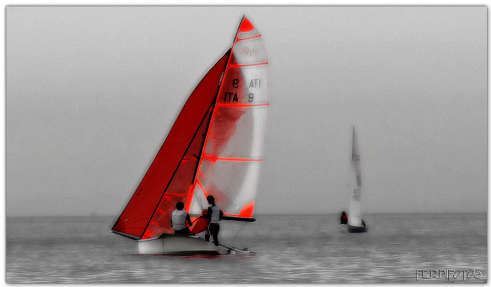 The red sail