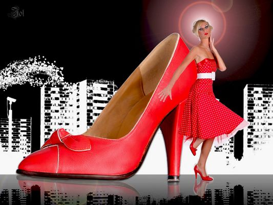 the red shoe project!