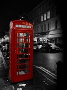 The red TELEPHONE classic