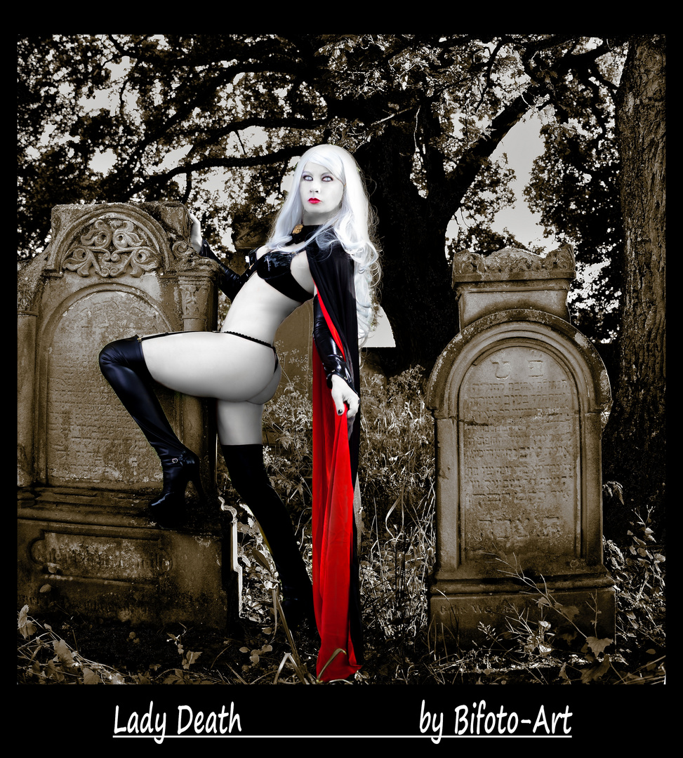 The return of Lady Death