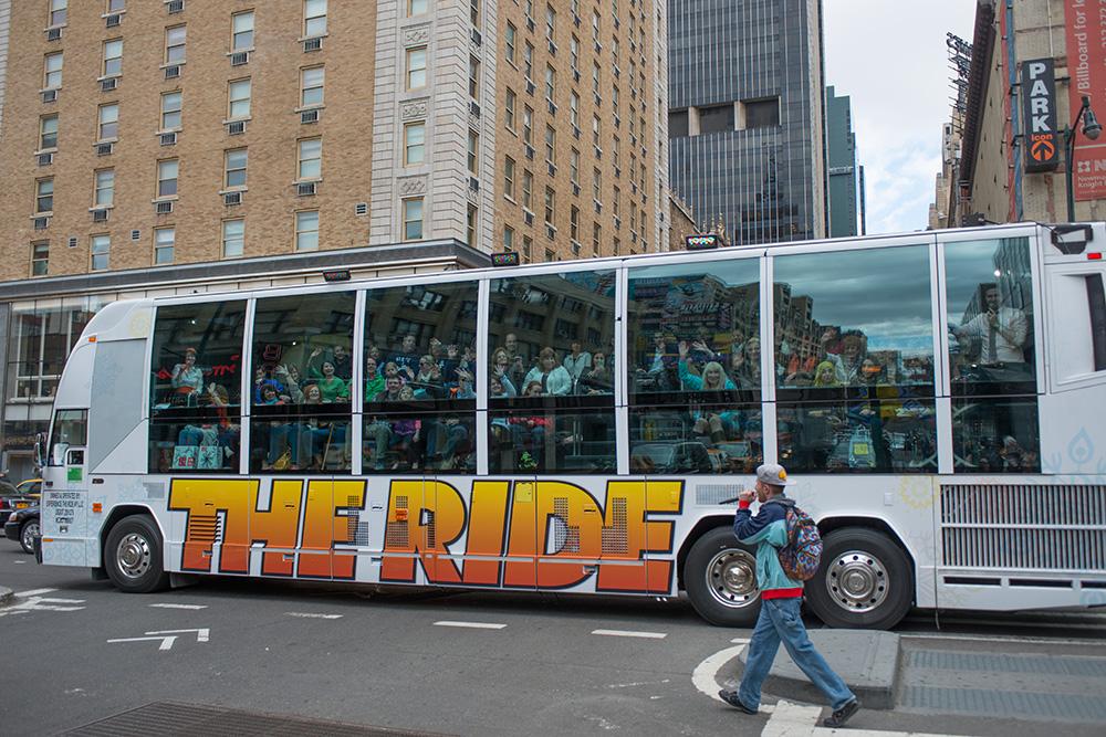 The Ride - Exotischer Sightseeing Bus in New York
