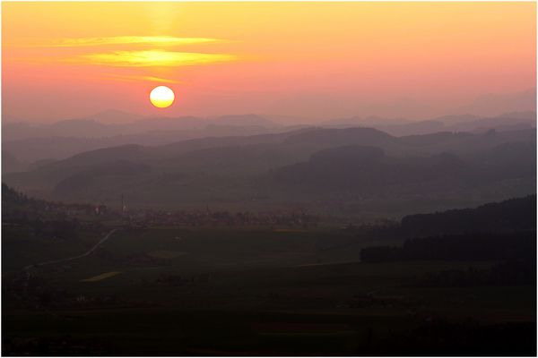 ...the rising sun...
