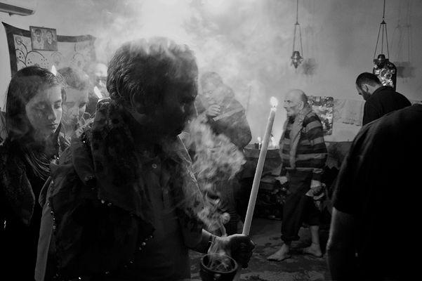 The ritual of Anastenari (Fire walkers)...
