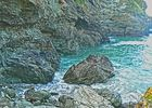 The Rocks of Tintagel Island
