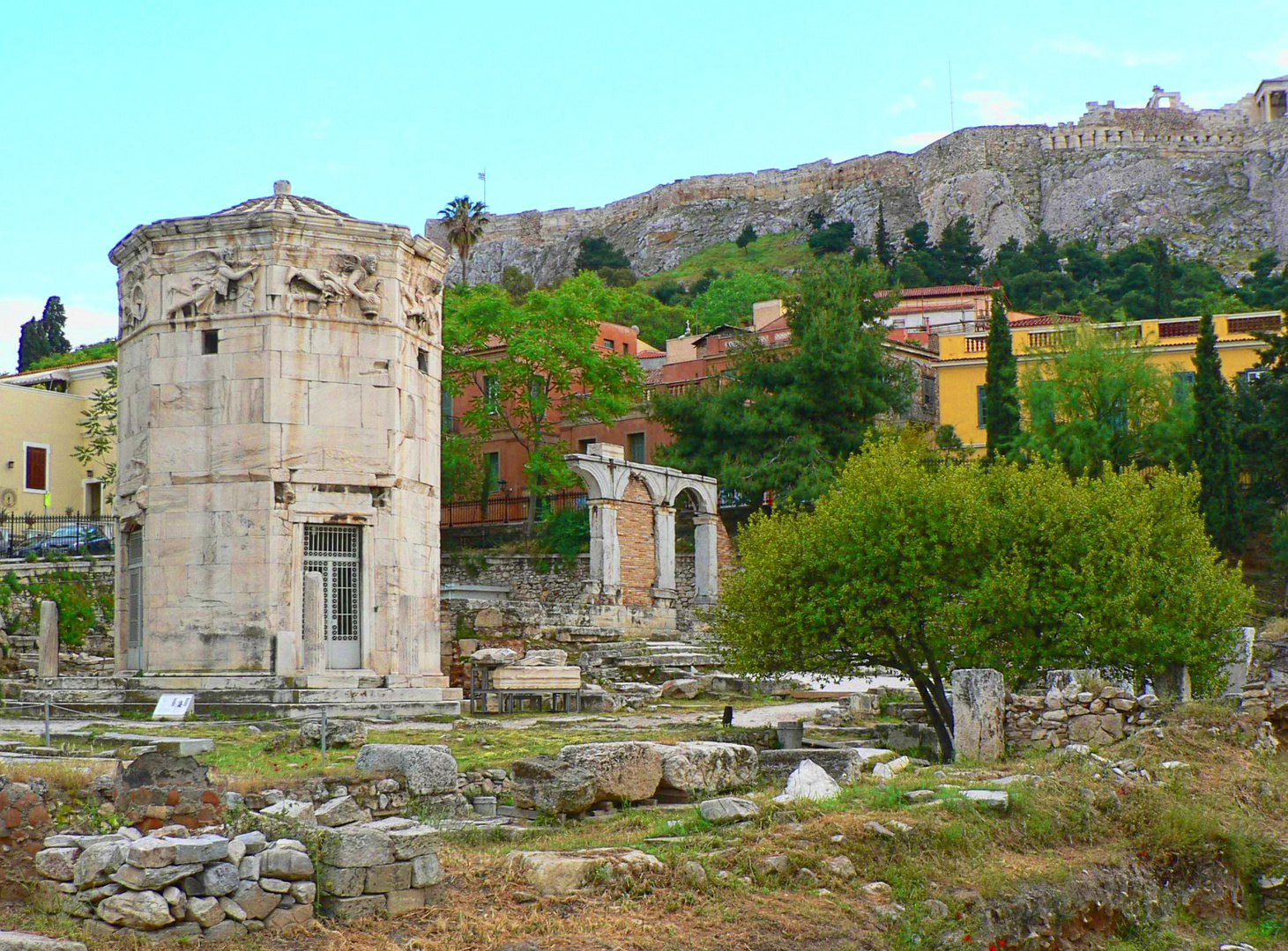 The Roman Agora with the Tower of the Winds, Athens