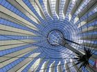 the roof of the sony center [berlin]