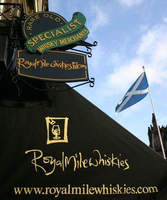 The Royal Mile ...