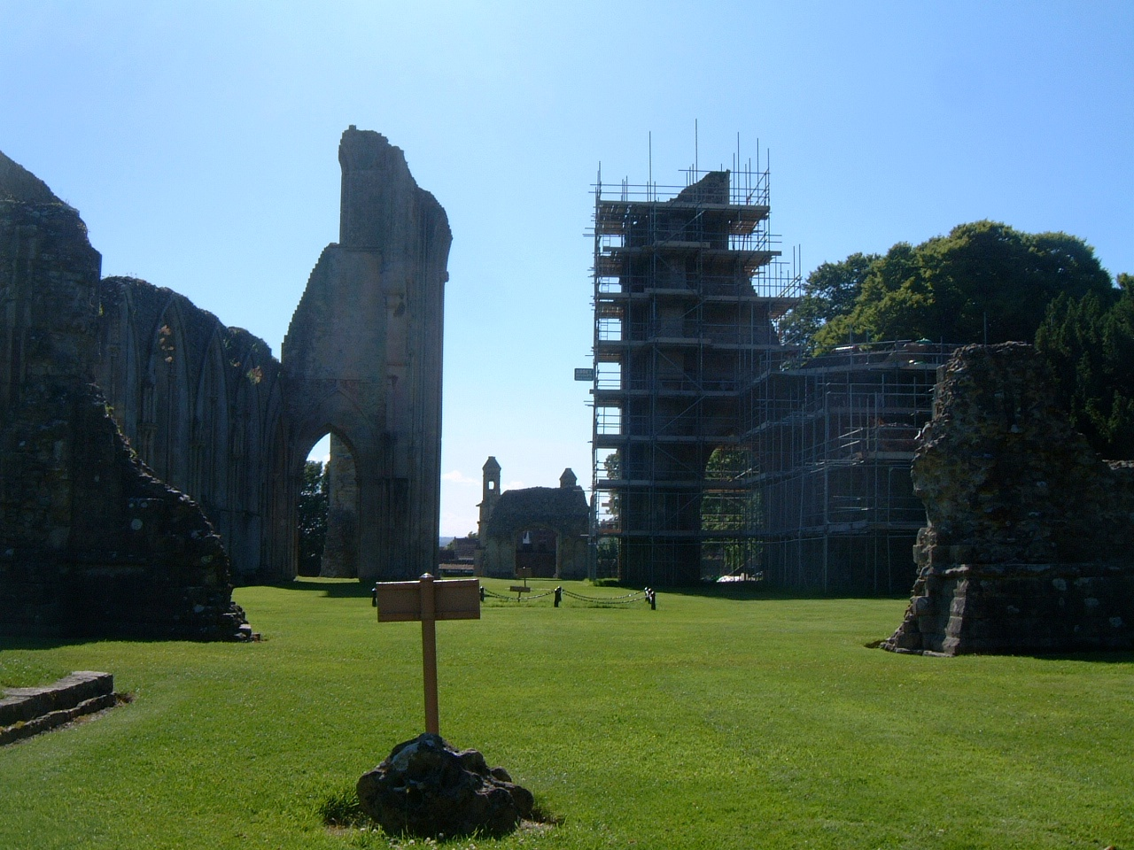 The Ruins of Glastonbury Abbey