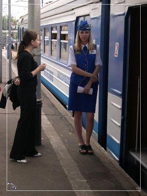 The Russian railways