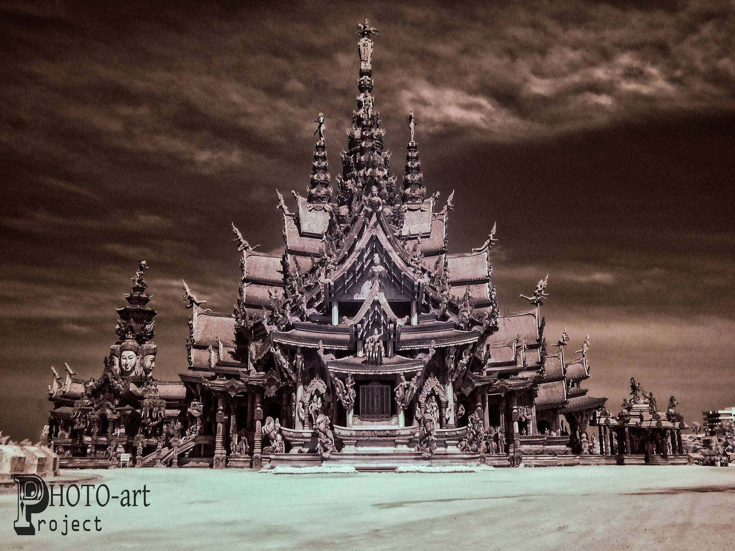 The Sanctuary of Truth infrared