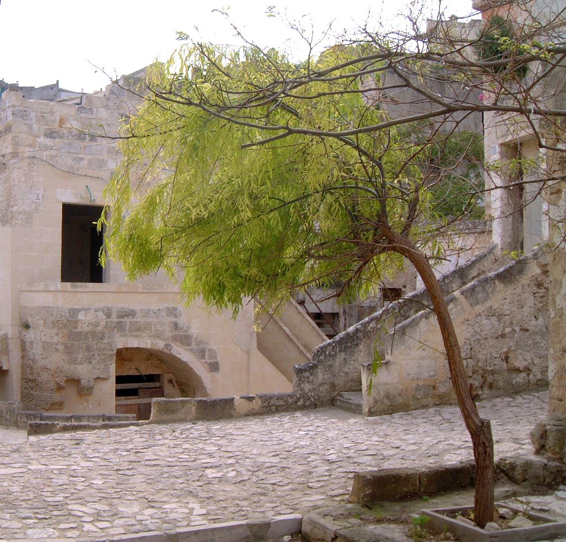 The Sassi Area of Matera