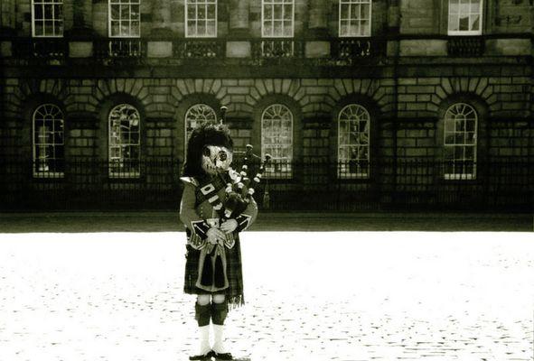 the Scot creepy