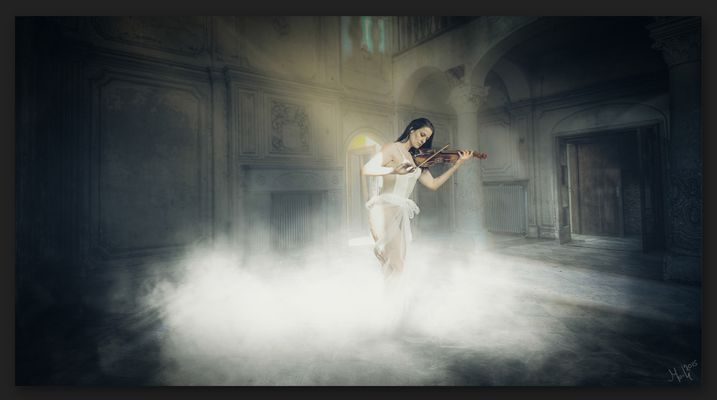 The serenade of ghost