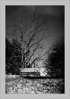 the shack in B&W