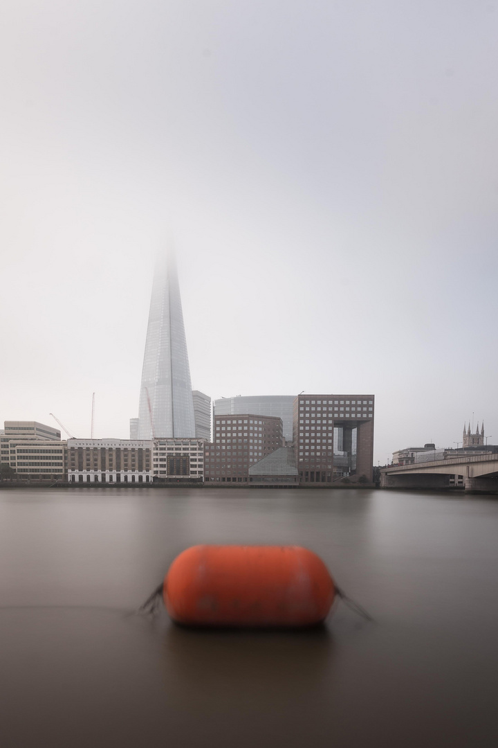 The Shard in the mist