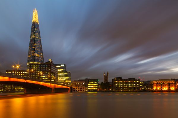 The Shard, Themse, London November 2016...