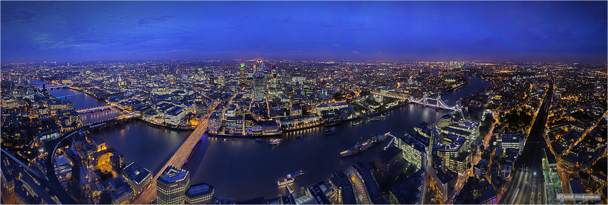 The Shard View Panorama