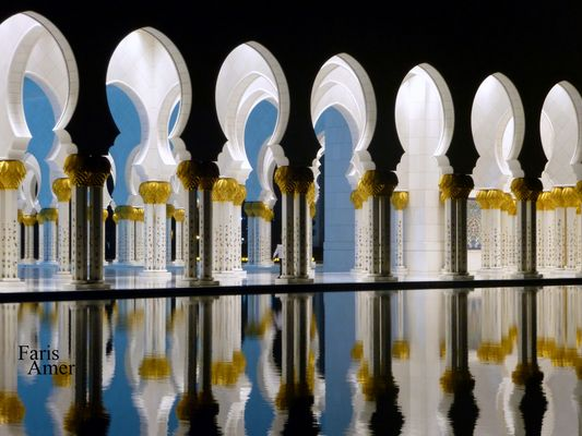 The Sheikh Zayed-mosque