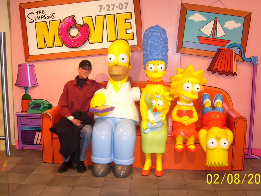 the simpsons and peter mayer `