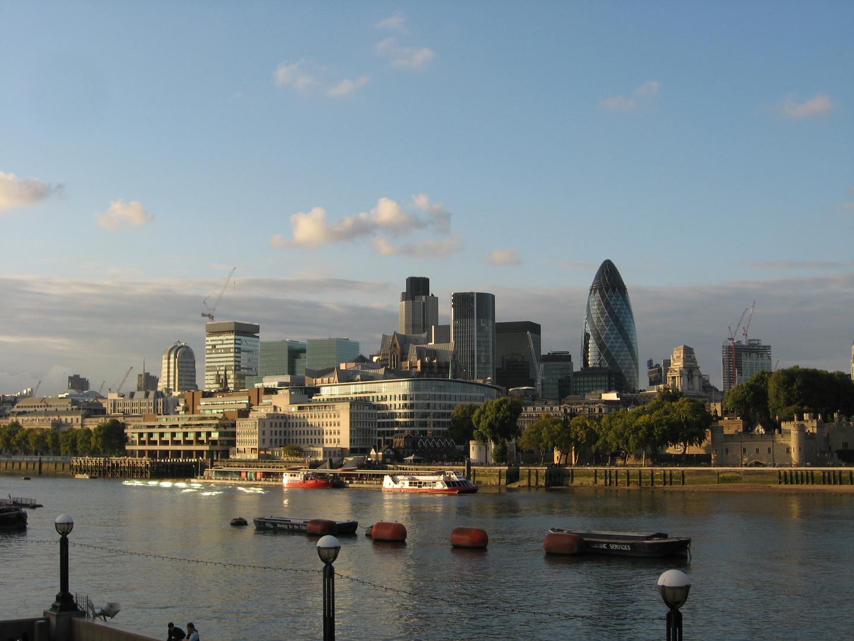 The Skyline of London