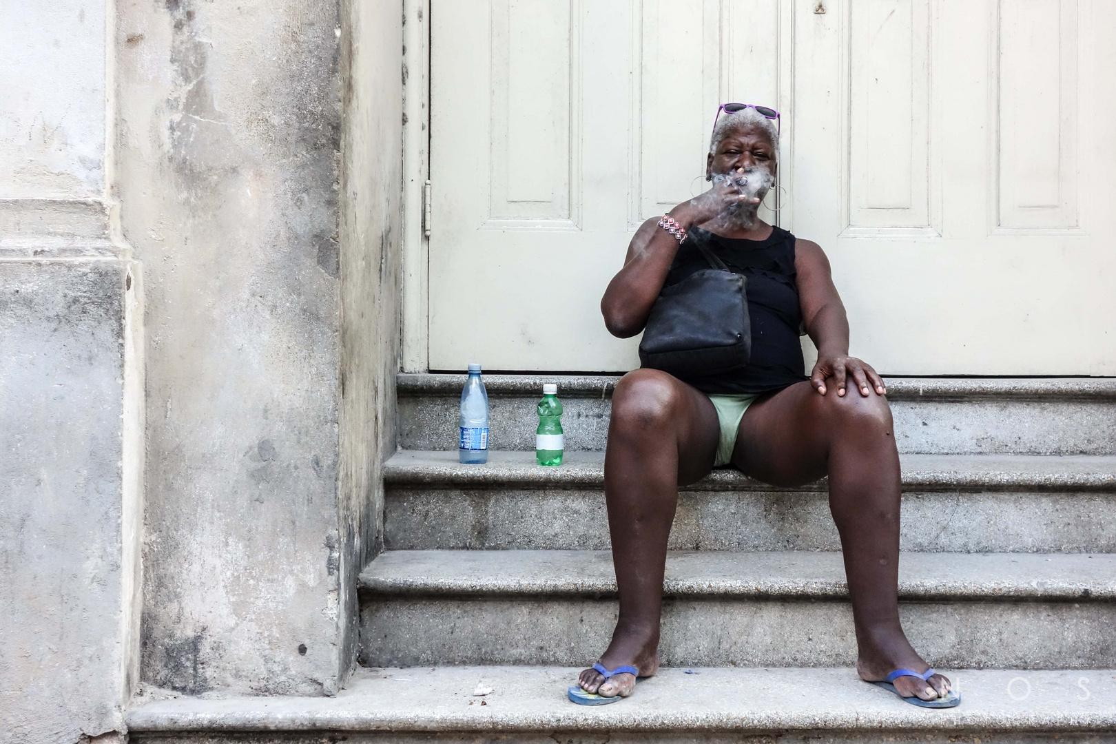 The smoke of Cuba