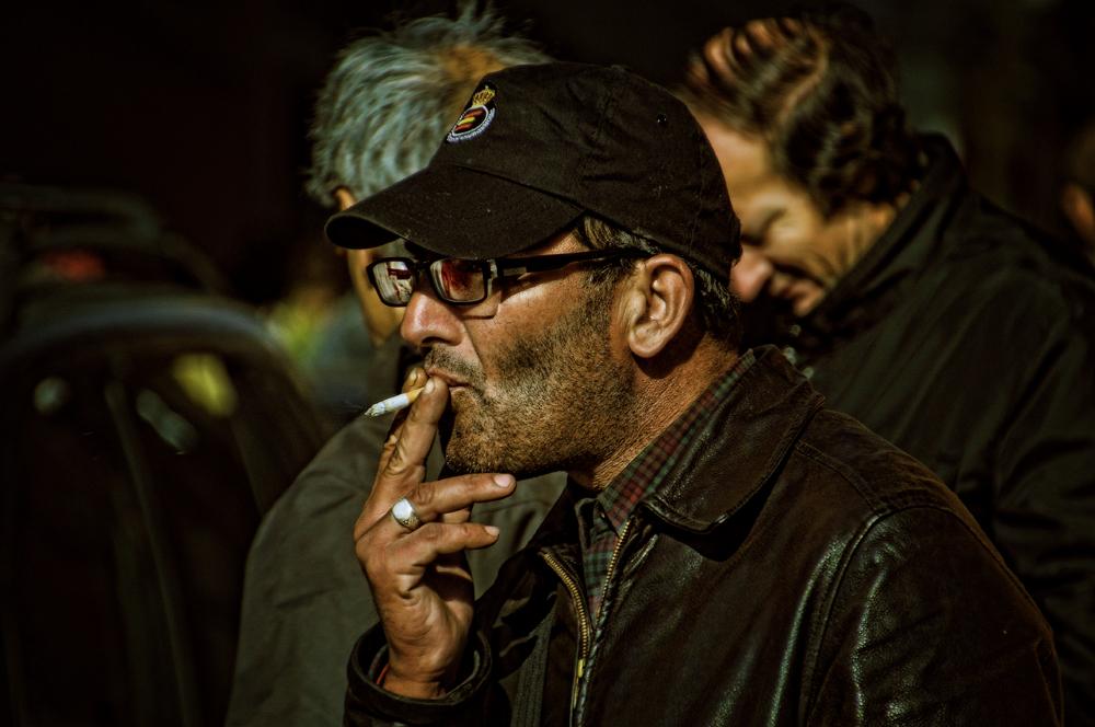 The Smoker ( el fumador) dedicada a Noelia Perez