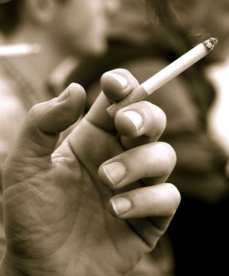 the smokin' hand