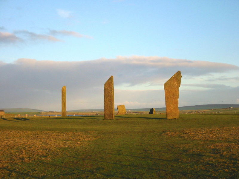 The Standing Stones of Stennes, Orkney, Scotland